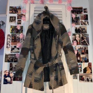 Patterned Winter Jacket